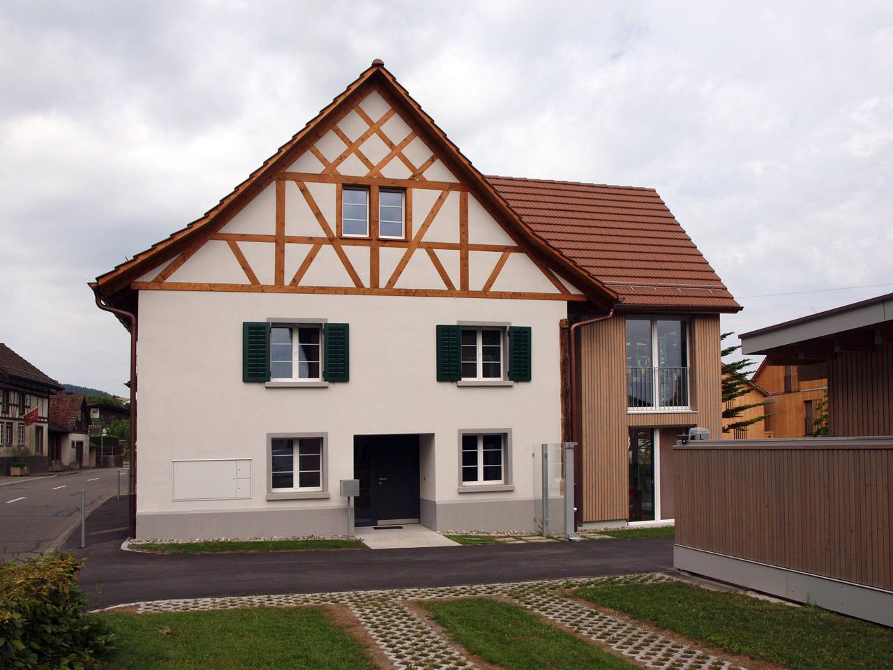 umbau bauernhaus hauptstrasse 22 flaach orsingher architekten ag. Black Bedroom Furniture Sets. Home Design Ideas